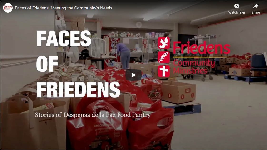 Faces of Friedens: Meeting the Community's Needs