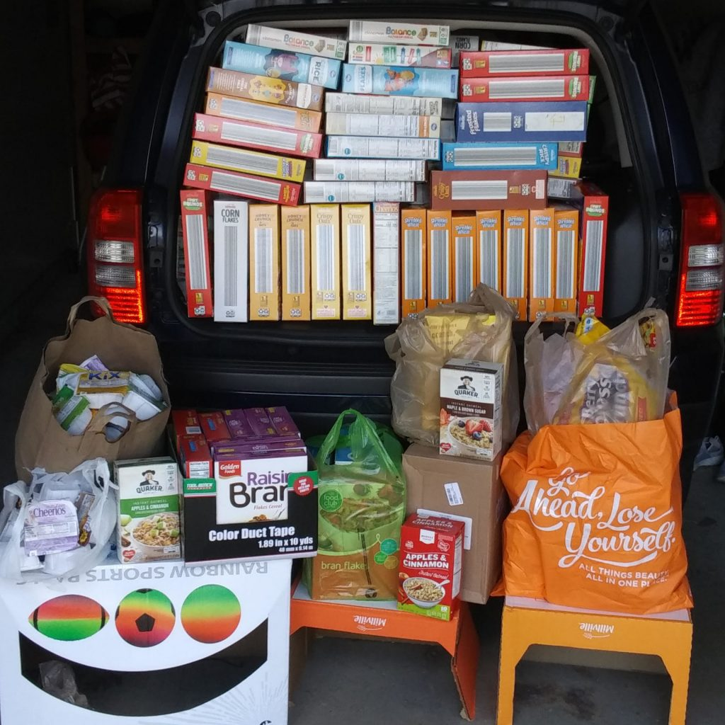 Copy of Natalie Cereal Donation